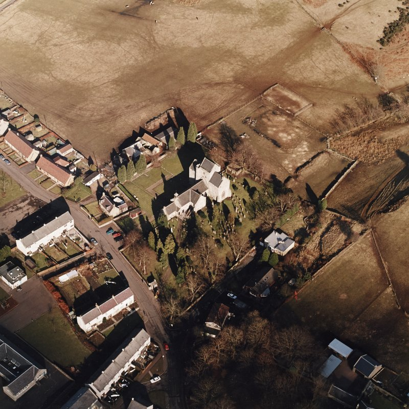 Oblique aerial view from SW.