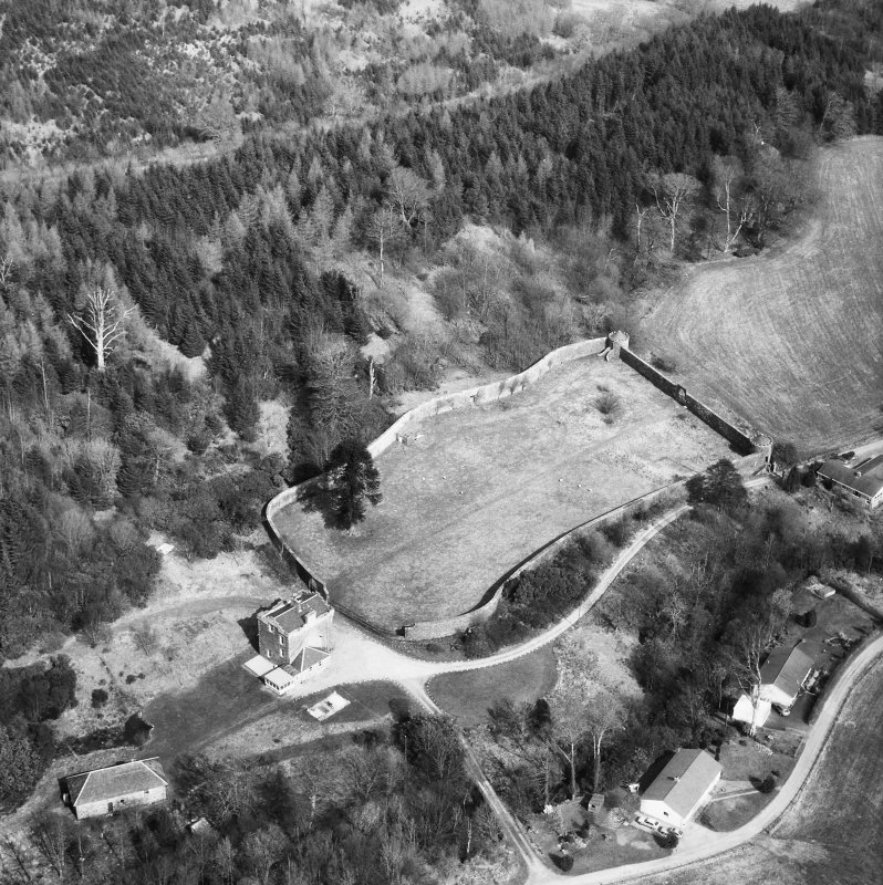Oblique aerial view from South.