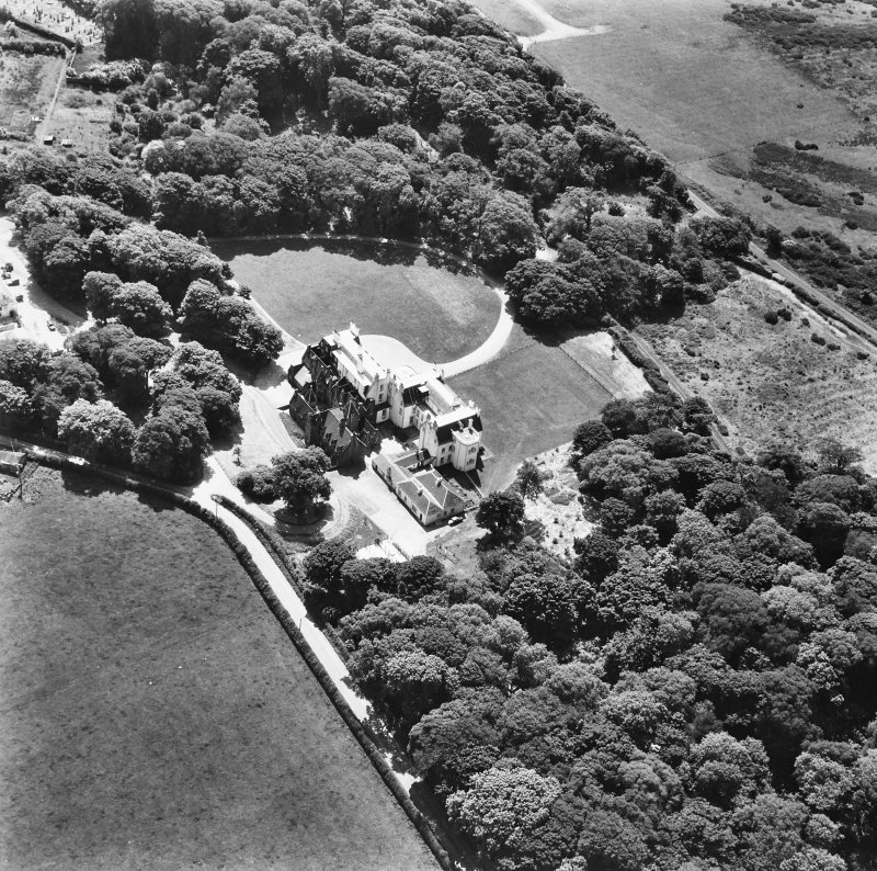 Islay House, Islay. Aerial view from North.