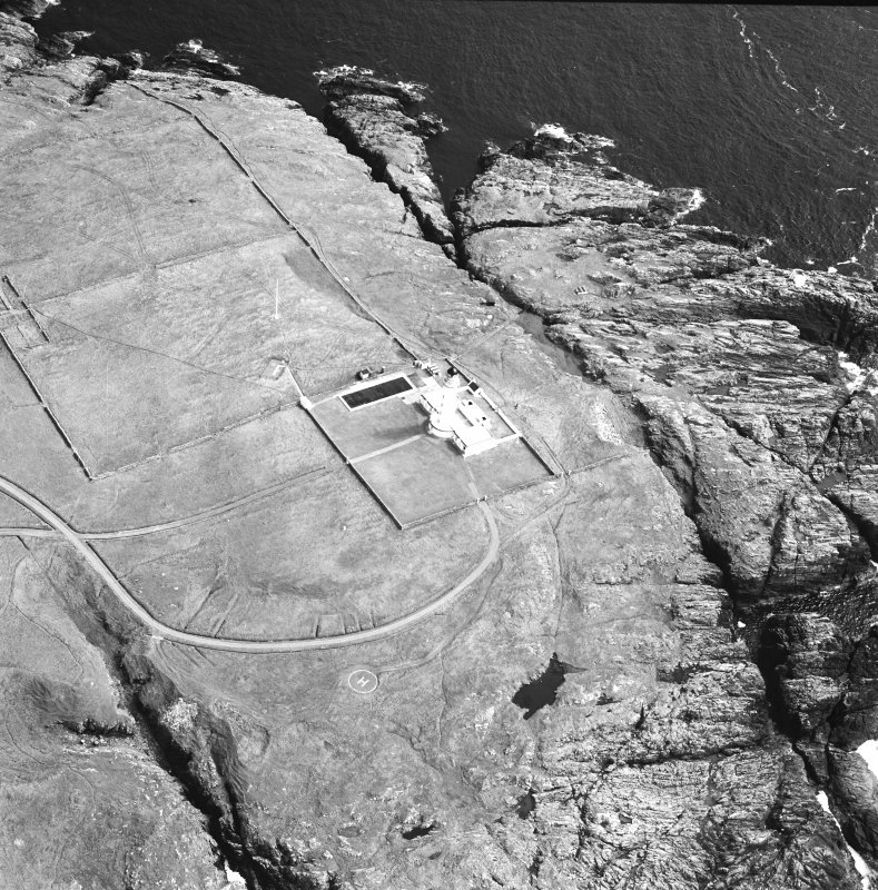 Oblique aerial photograph of Orsay Island and lighthouse, Islay, taken from the NNW.