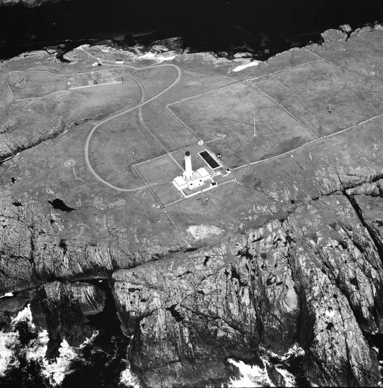 Oblique aerial photograph of Orsay Island and lighthouse, Islay, taken from the WSW.