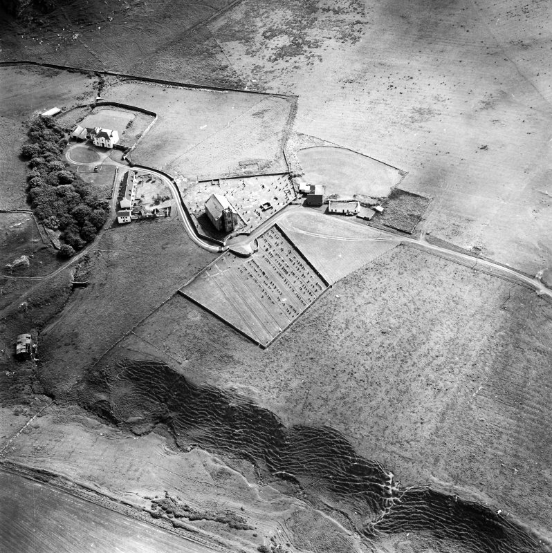 Oblique aerial photograph of Kilchoman, Islay, taken from the NNE.
