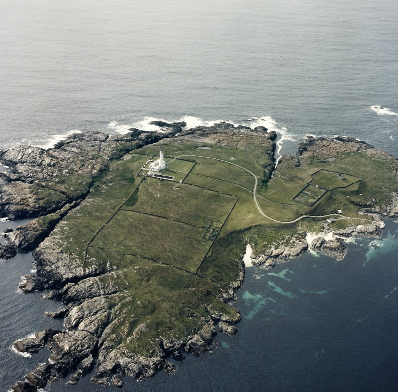 Oblique aerial photograph of Orsay Island, Islay, taken from the SE.