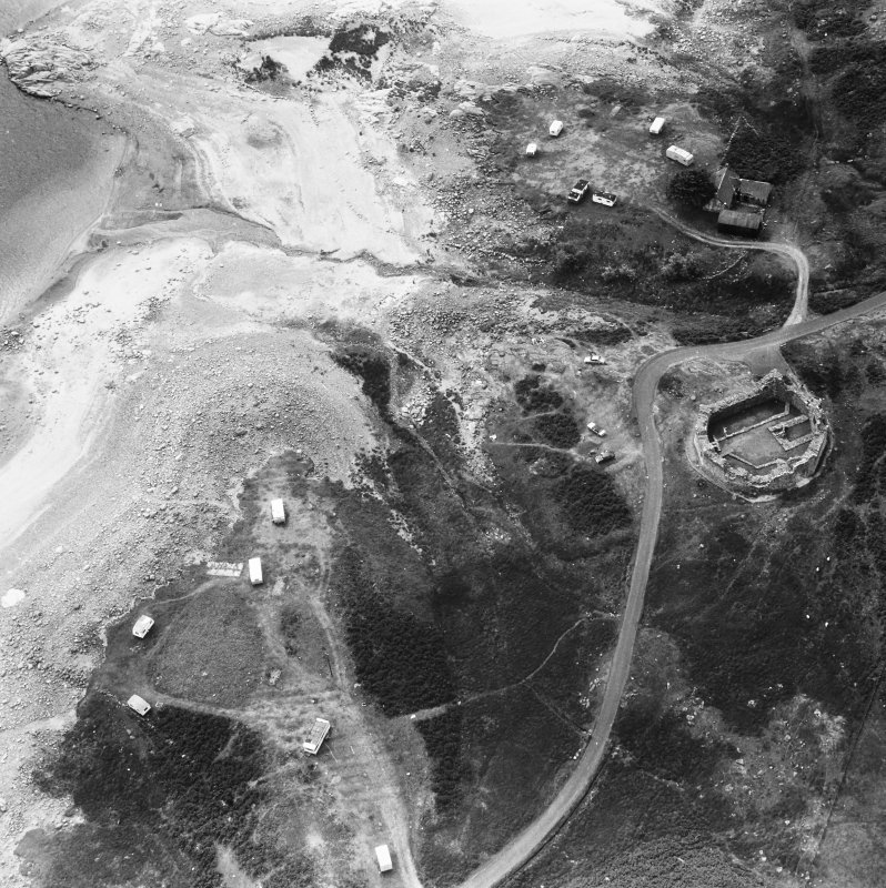 Aerial photograph showing general view.