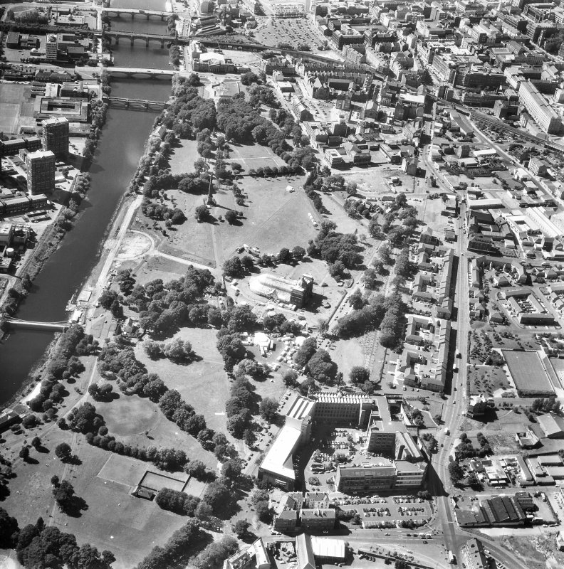 Glasgow, Bridgeton, general. General aerial view.