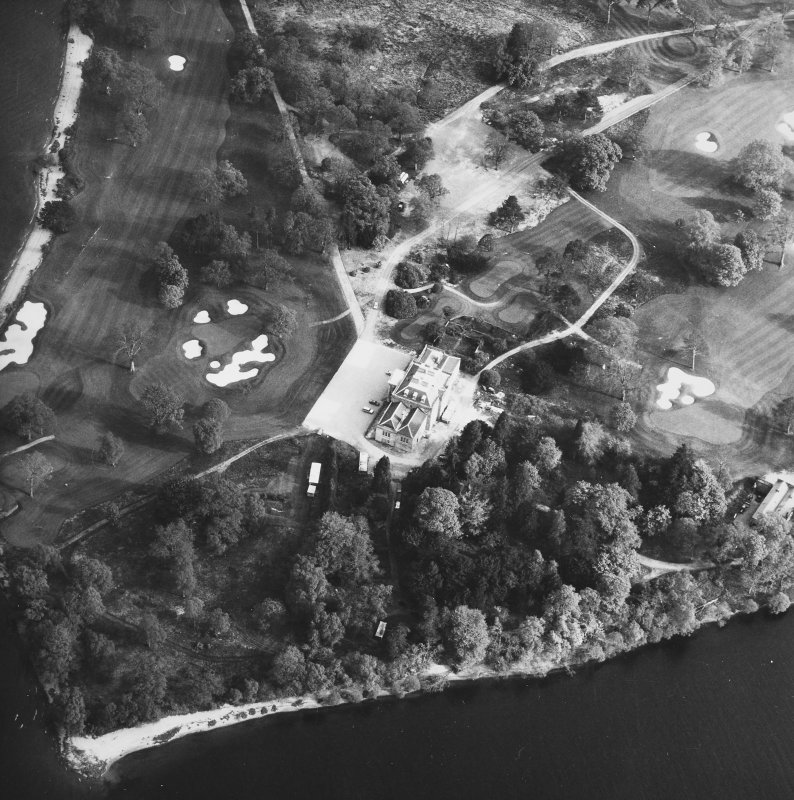 Aerial view of Rossdhu House