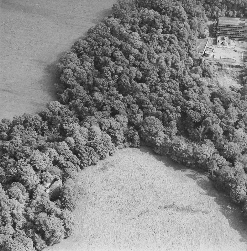 Kilmahew Castle, oblique aerial view, taken from the NW.