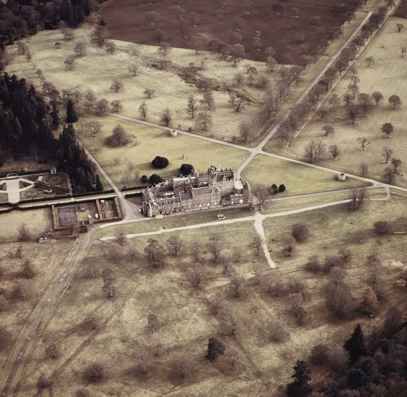 Aerial view.