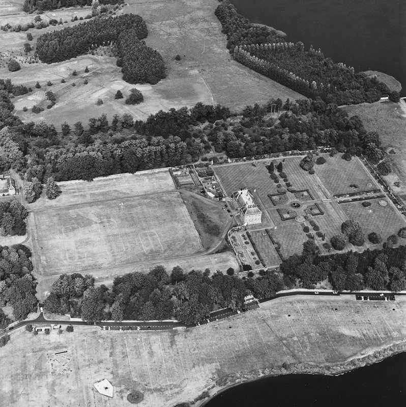 Kinross House, oblique aerial view, taken from the SSW.