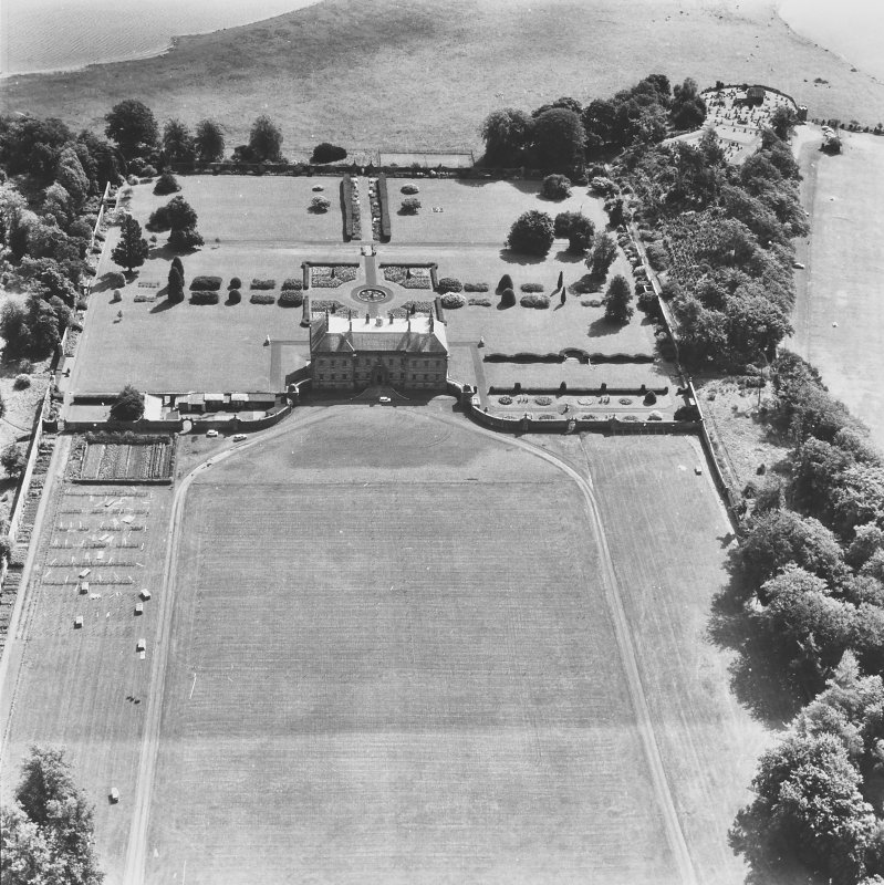Kinross House. General aerial view.