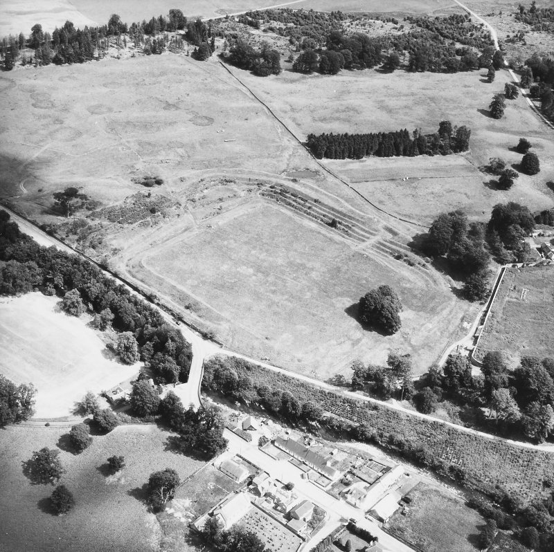 Oblique aerial view from south west.