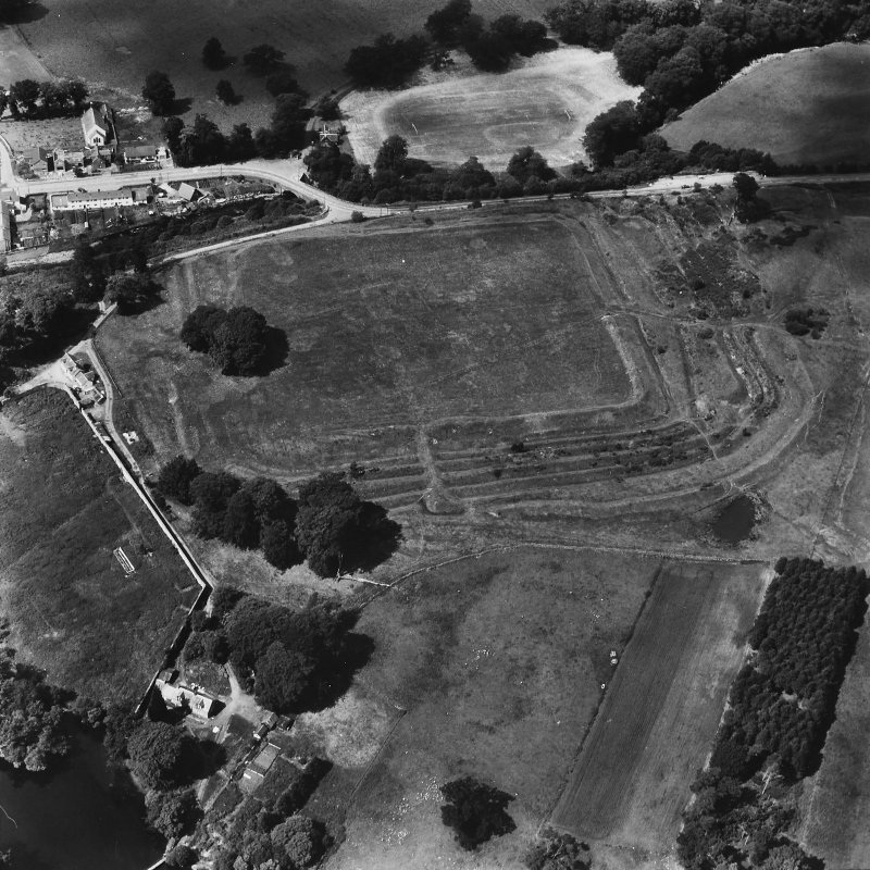 Oblique aerial view from east.