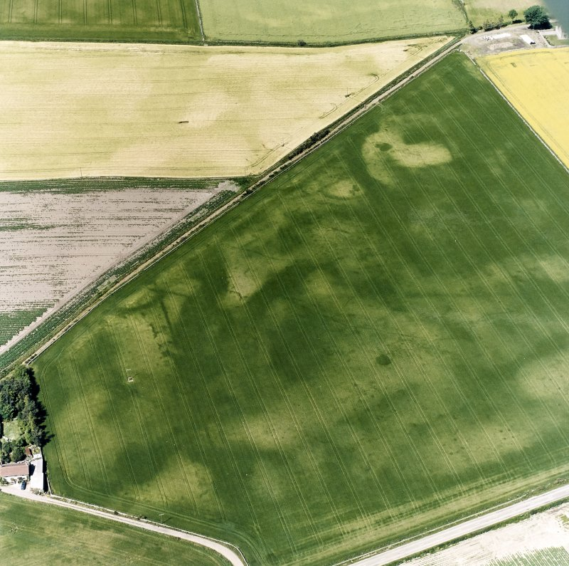 Chapelton, oblique aerial view, taken from the S