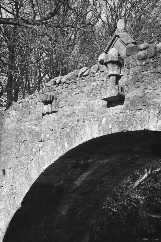 Detail of stonework, Old Bridge of Dean.