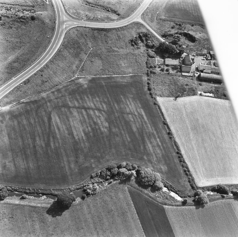Oblique aerial photograph
