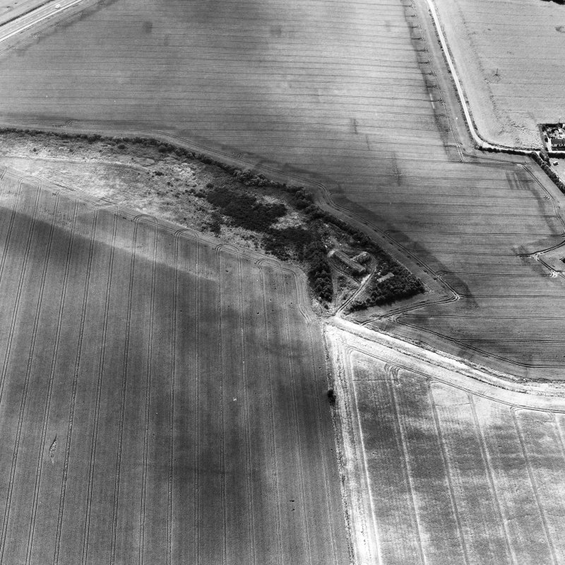 Oblique aerial view Filed in archaeology box file