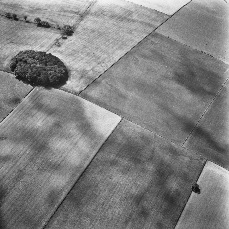 Oblique aerial view from north east.