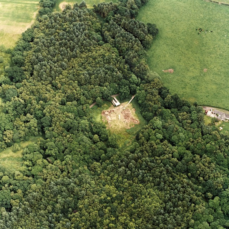Oblique aerial view from WSW.