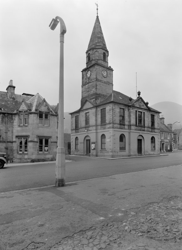 View of Falkland Town Hall from north east.