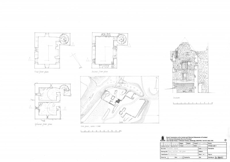 Plans, Section, Site Plan.