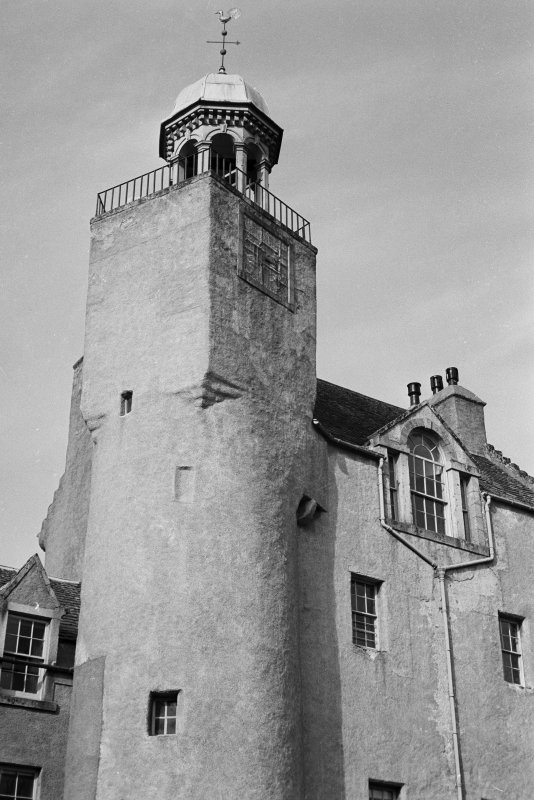 View of tower, Abergeldie Castle.