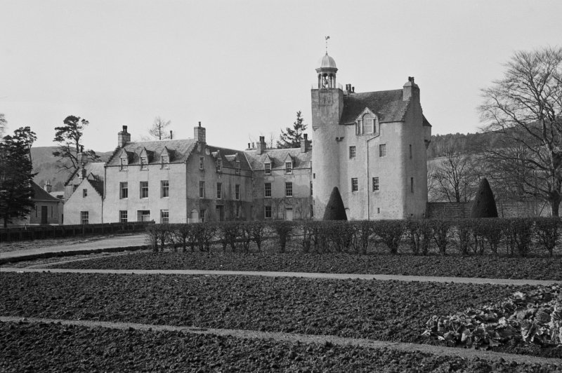 General view of Abergeldie Castle.