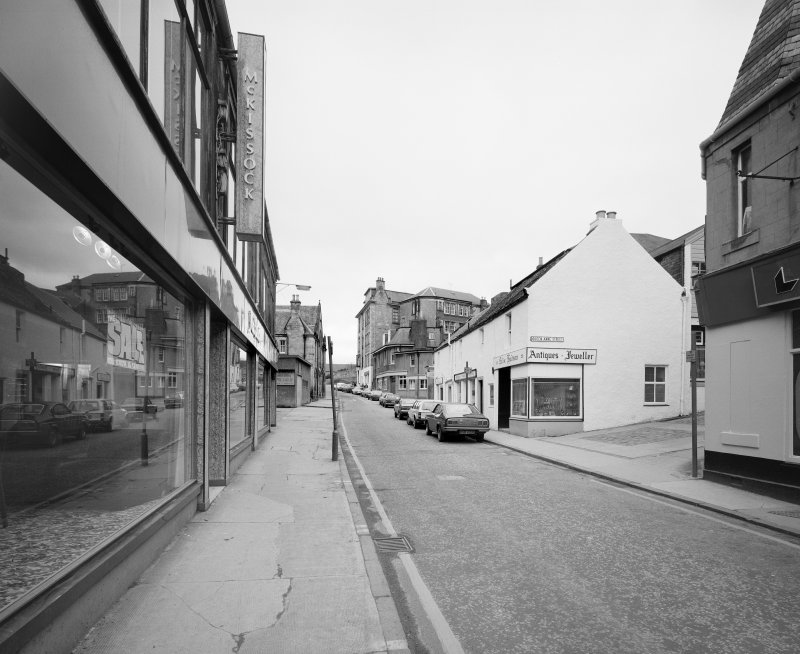 Dunfermline, Bruce Street. General view from South