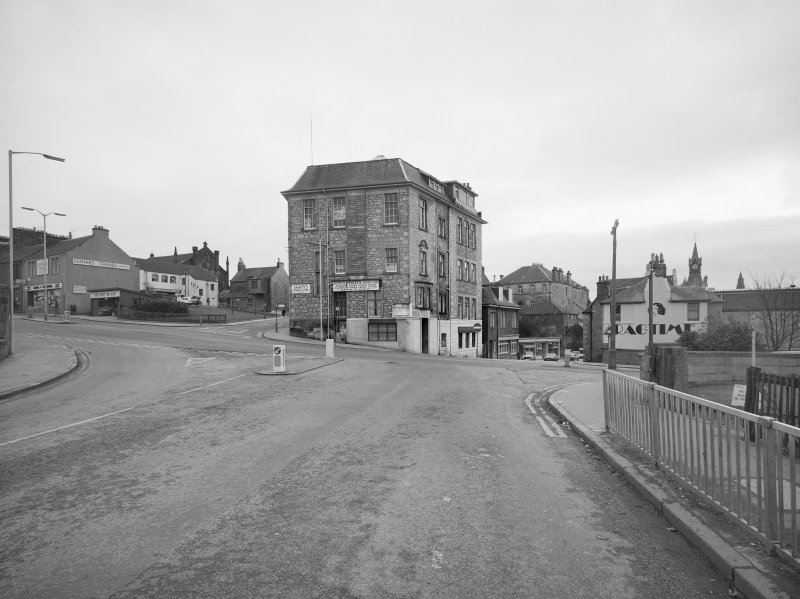Dunfermline. General view from North Carnegie Drive, Bruce Street & Chapel Street