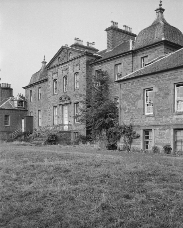 View of south elevation, Gray House.