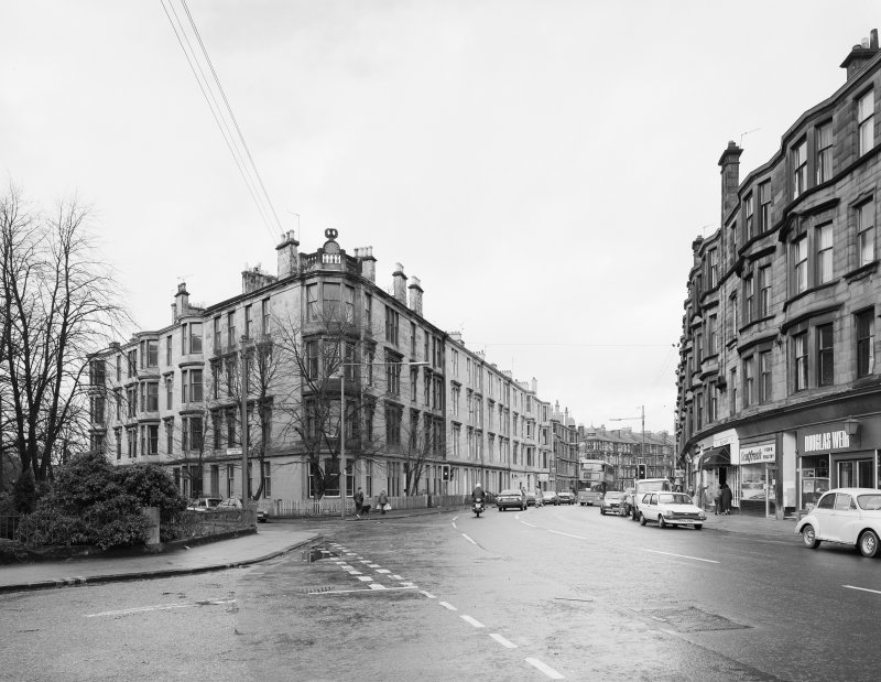 Glasgow, Hyndland Road, General.