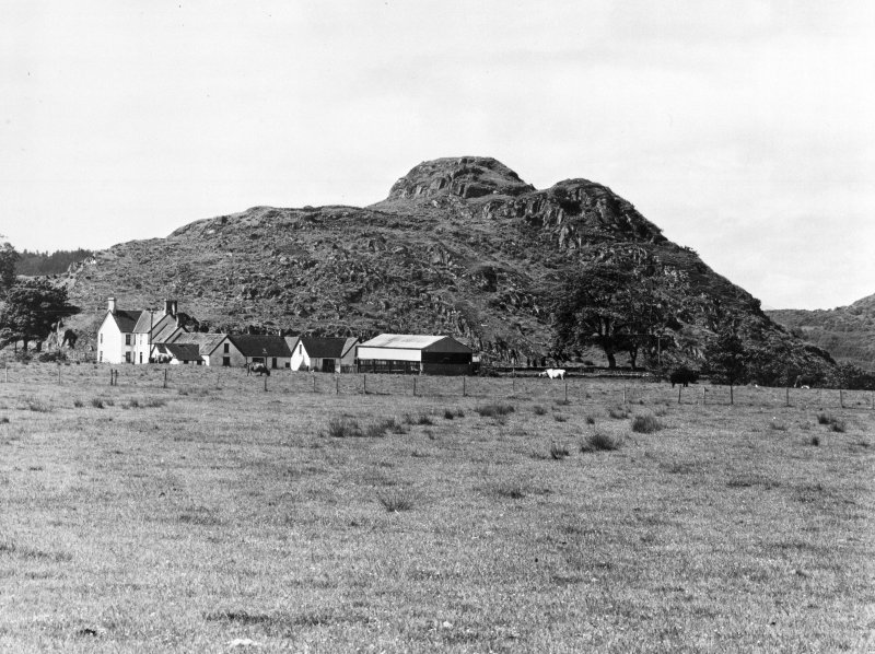 Dunadd, Fort. General view.