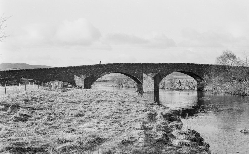 General view of Kilmichael Bridge.