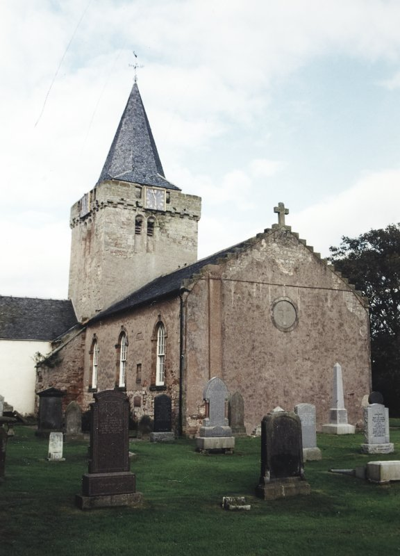 View of church from east