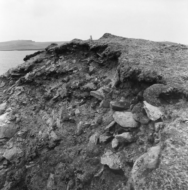 Exposed section at Ness of Burgi.