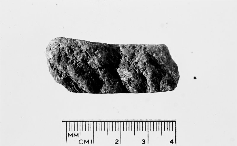 House 5. Small Find 207. Steatite pot sherd.