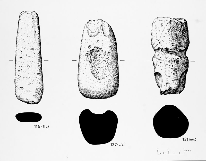 Miscellaneous stone implements and objects - Bu broch.  BAR Fig.1.34, p66