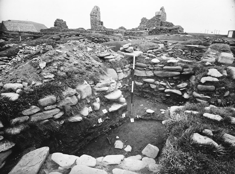 Excavation Photograph: Norse buildings.
