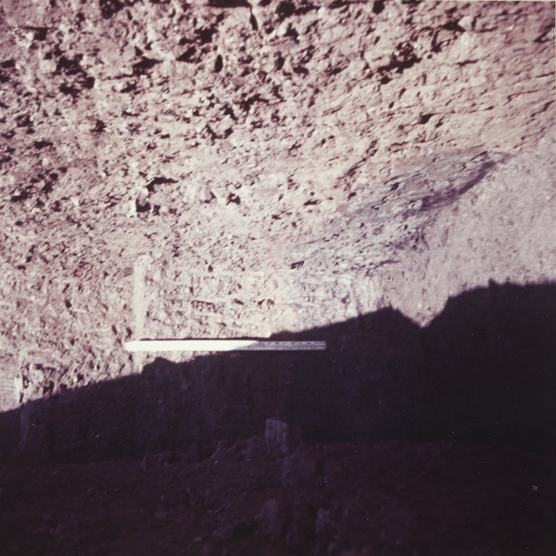 Excavation photograph: View of trench.