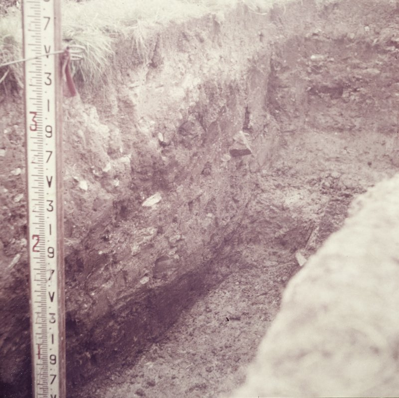 Excavation photograph: Ditch section