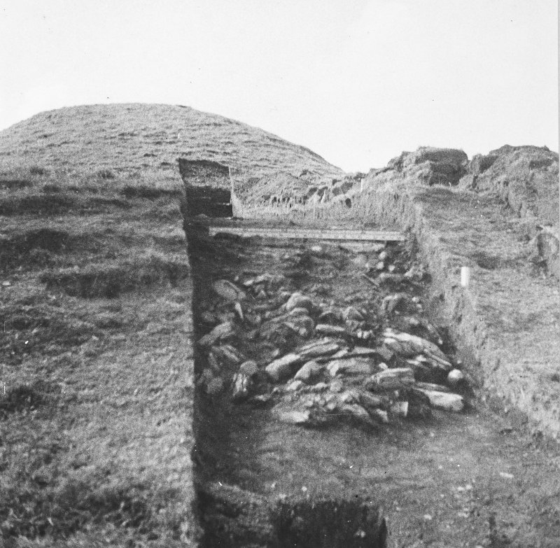 Excavation photograph: General view of trench.