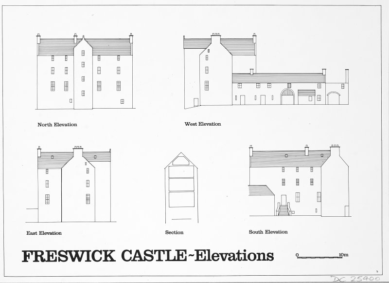 Elevations. Glasgow Archaeological Journal, vol. 11 (1984), fig.3.