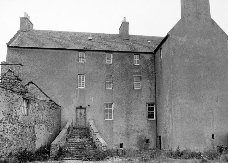 Survey photograph. View of castle from courtyard.