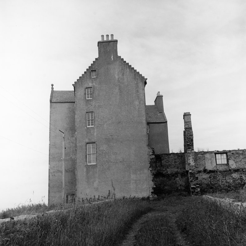 Survey photograph. View of castle.