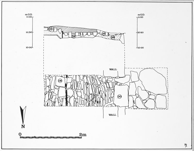 Trench plans.  The original ink drawings for this illustration came from DC 489, DC 492 & DC 497.