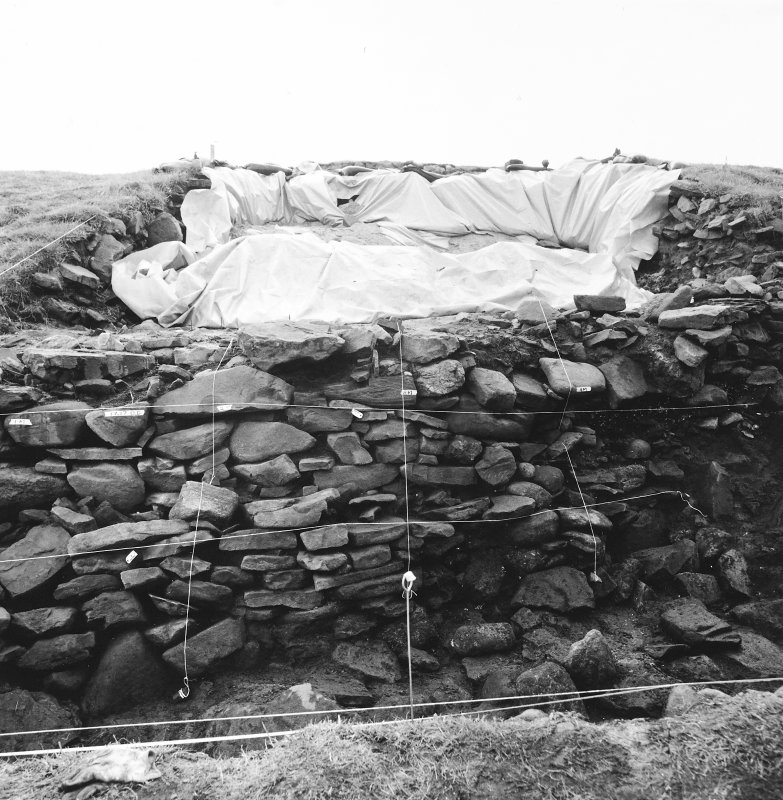 Excavation photograph dated 29 August 1987.