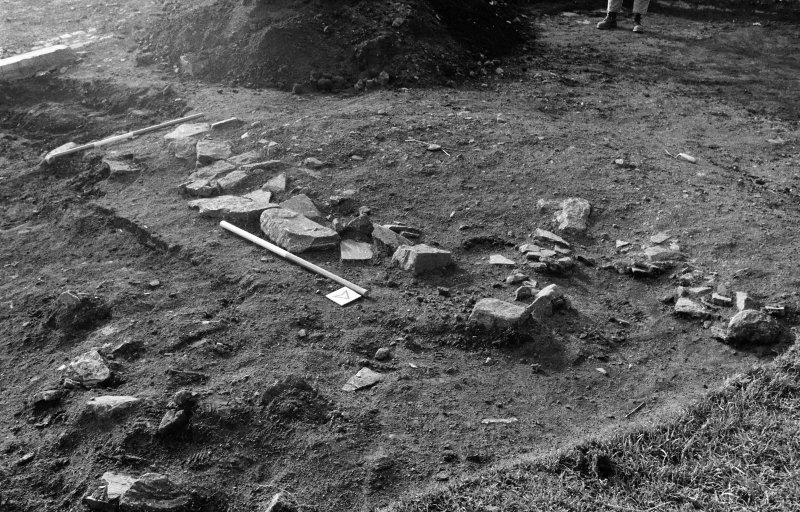 Excavation photograph : stone spread 011.