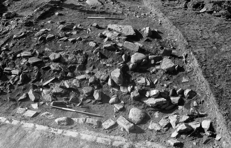 Excavation photograph : northern portion of bank.