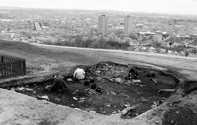 Excavation photograph : working shot