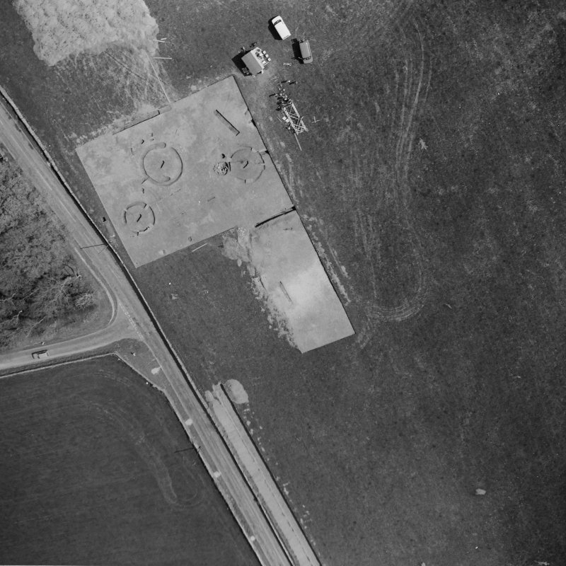 Aerial photograph of site