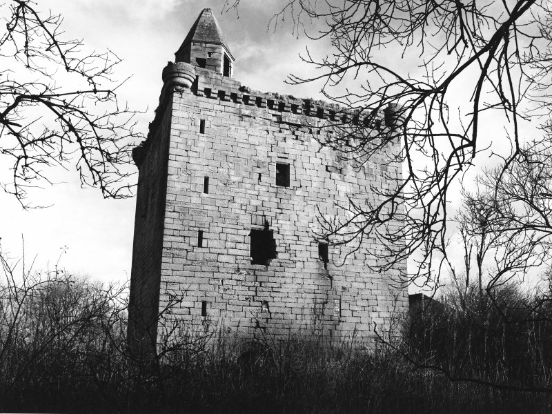 Excavation archive: Sauchie Tower. From W.